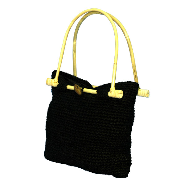 EXP Handcrafted Hemp Purse, Black at Sears.com