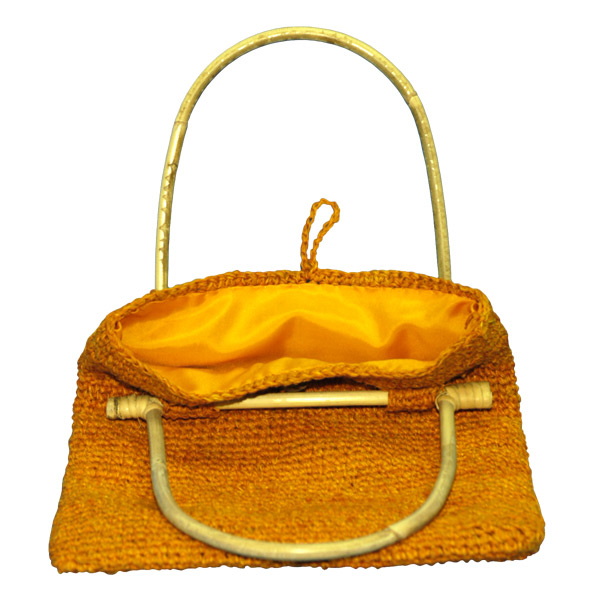 EXP Handcrafted Hemp Purse, Orange at Sears.com