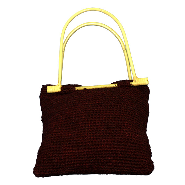 EXP Handcrafted Hemp Purse, Burgundy at Sears.com