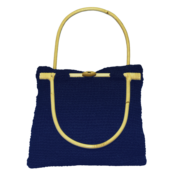 EXP Handcrafted Hemp Purse, Blue at Sears.com